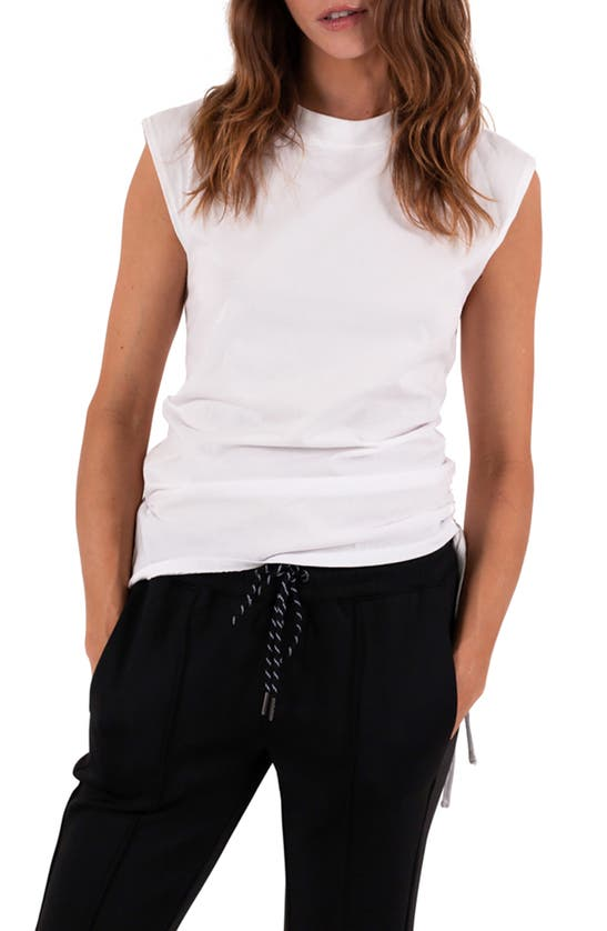 Pam & Gela RUCHED MUSCLE TANK