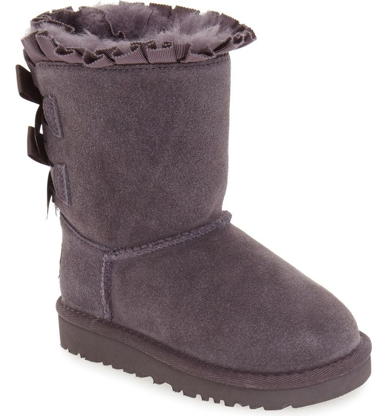 ac619b3fca9 'Bailey Bow Ruffles' Genuine Shearling Lined Boot