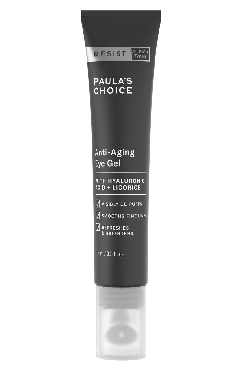 PAULA'S CHOICE Resist Anti-Aging Eye Gel, Main, color, NO COLOR