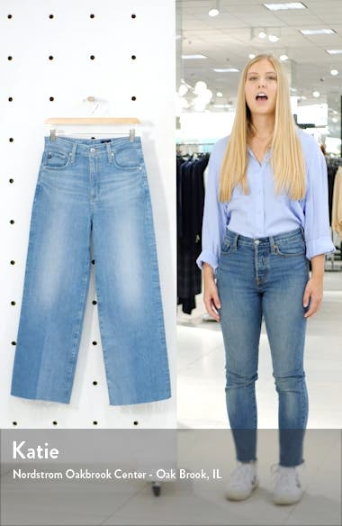 Etta Crop Wide Leg Jeans, sales video thumbnail