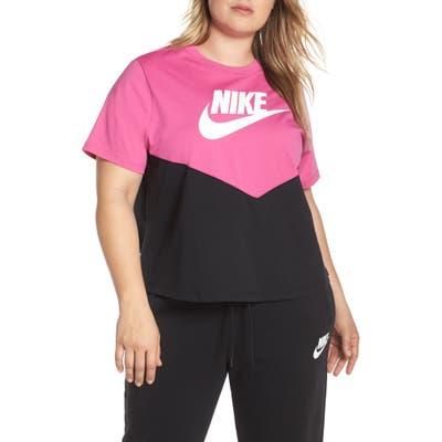 Plus Size Nike Sportswear Chevron Colorblock Tee