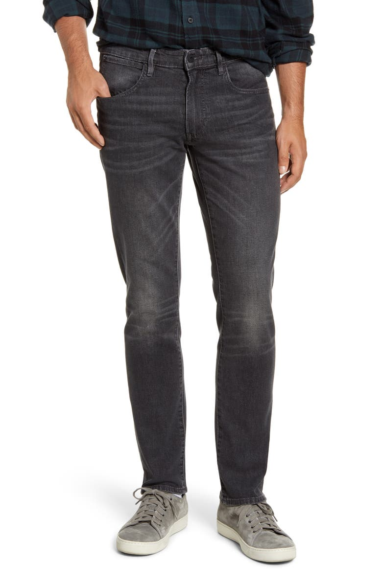 BONOBOS Slim Fit Jeans, Main, color, MIDNIGHT GREY