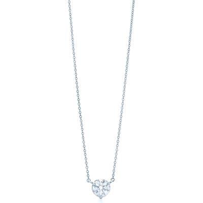Kwiat Platinum 0.50Ct. Solitaire Diamond Pendant Necklace