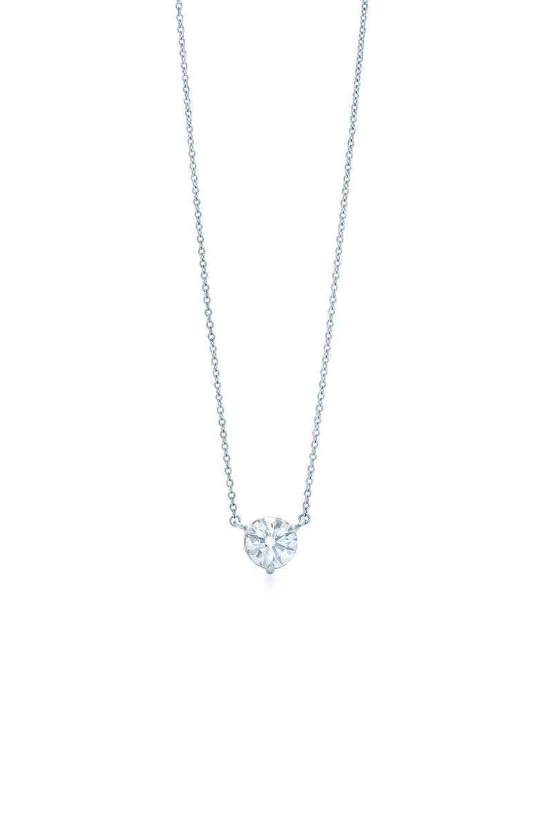 KWIAT Platinum 1ct. Solitaire Diamond Pendant Necklace, Main, color, PLATINUM