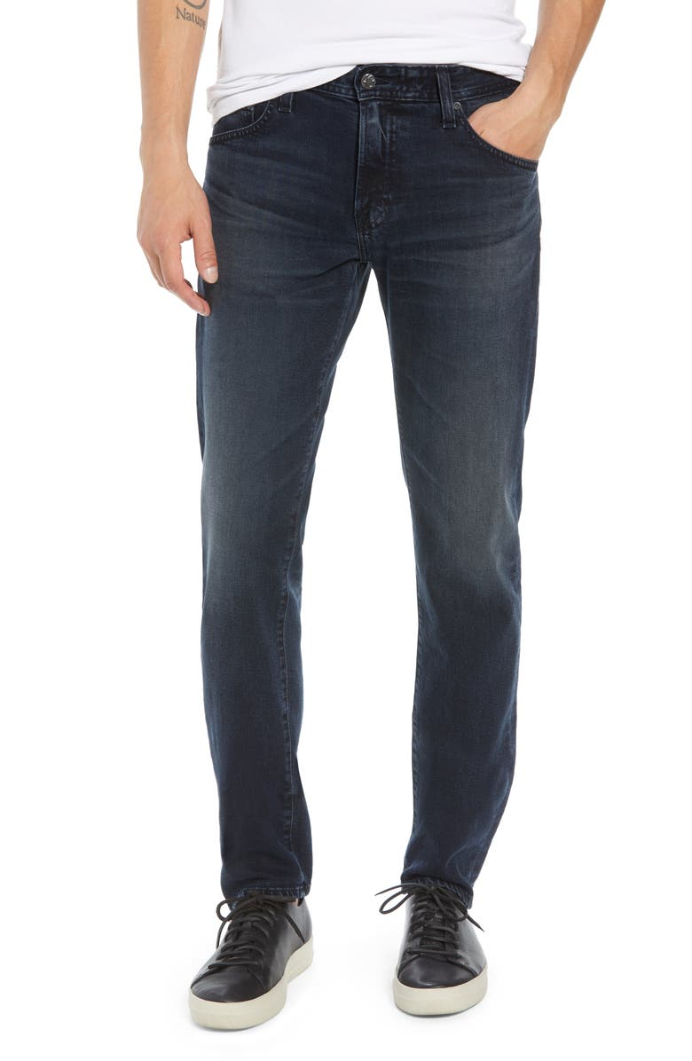 AG Tellis Slim Fit Jeans, Main, color, 2 YEARS RUMBLE