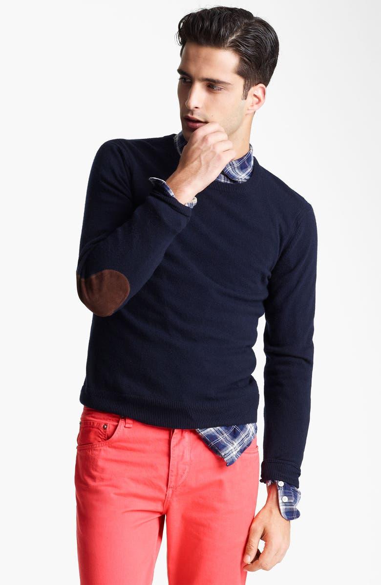 RAG & BONE 'Kampen' Crewneck Wool Sweater, Main, color, 410