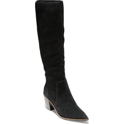 Cole Haan Willa Knee High Boot B - Black