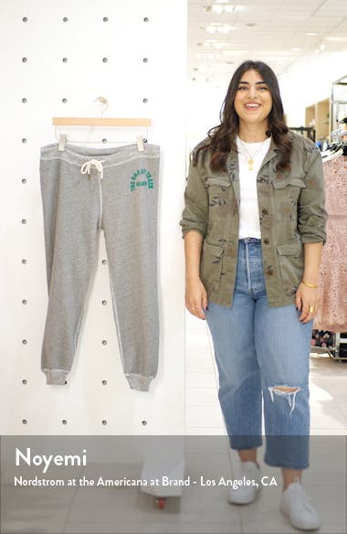 The Cropped Sweatpants with Logo Graphic, sales video thumbnail