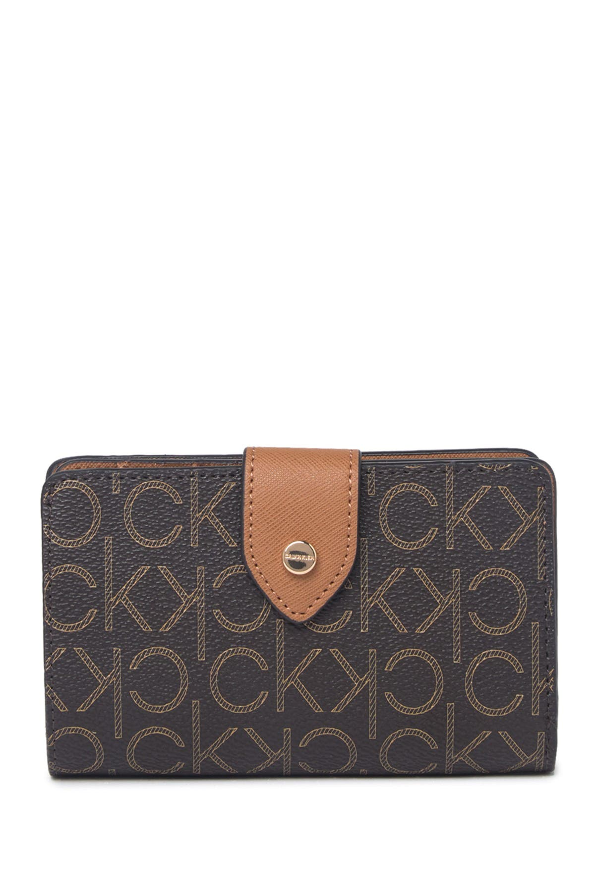 Image of Calvin Klein Signature Embossed Small Wallet