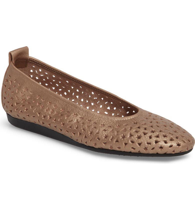 ARCHE 'Lilly' Flat, Main, color, ANTICO/ BLUSH LEATHER