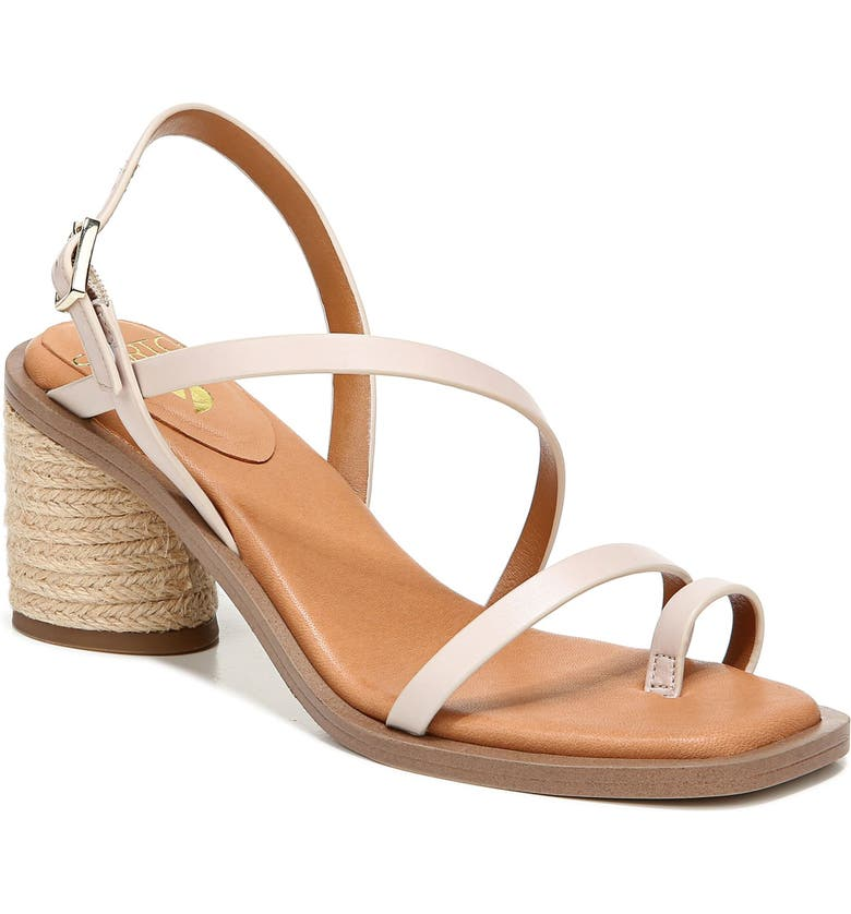 SARTO BY FRANCO SARTO Rache Sandal, Main, color, BONE LEATHER