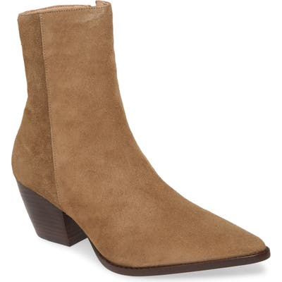 Matisse Caty Western Pointy Toe Bootie- Brown (Nordstrom Exclusive)