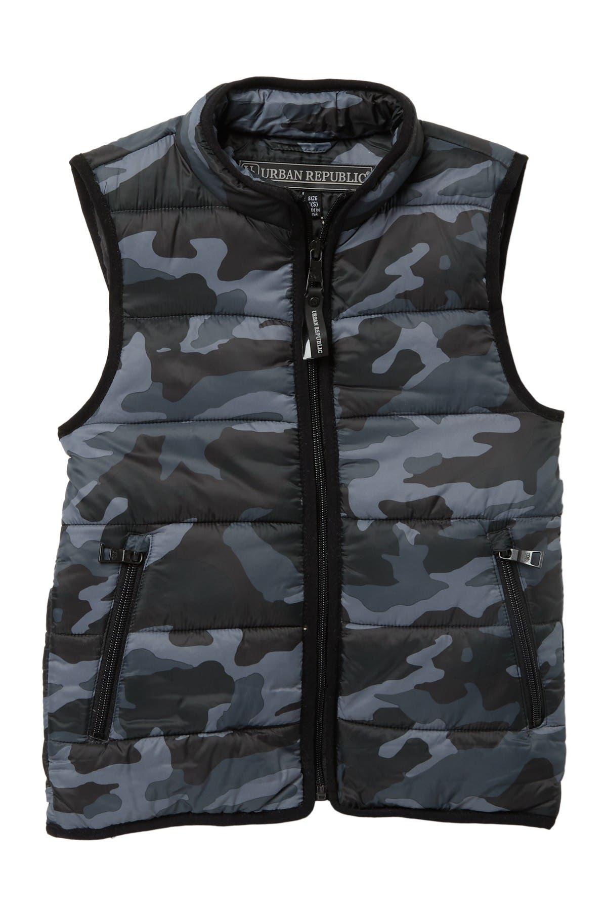 Image of Urban Republic Matte Ciree Reversible Vest