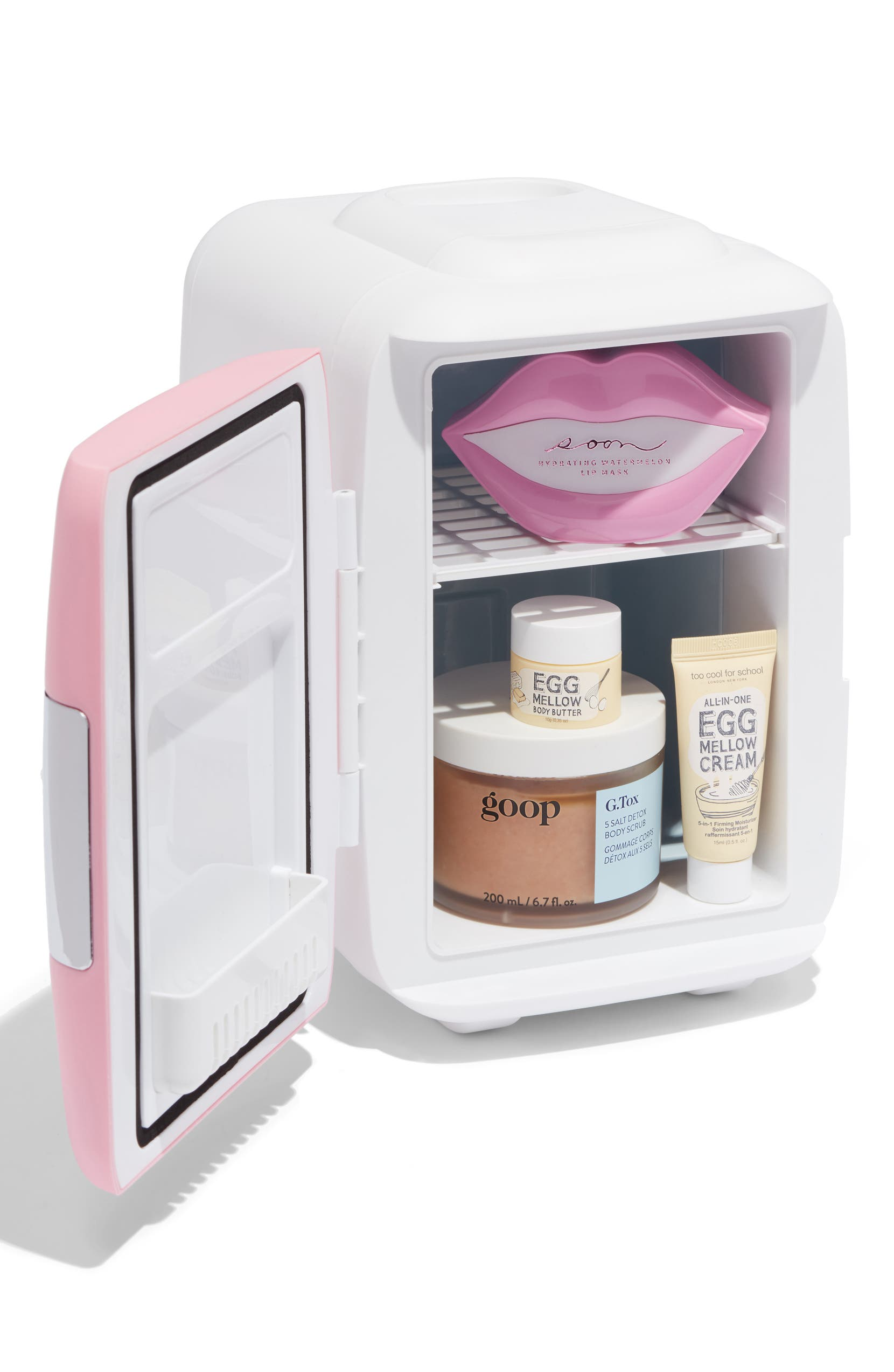 4L Thermoelectric Mini Beauty Fridge & Warmer, Alternate, color, PINK