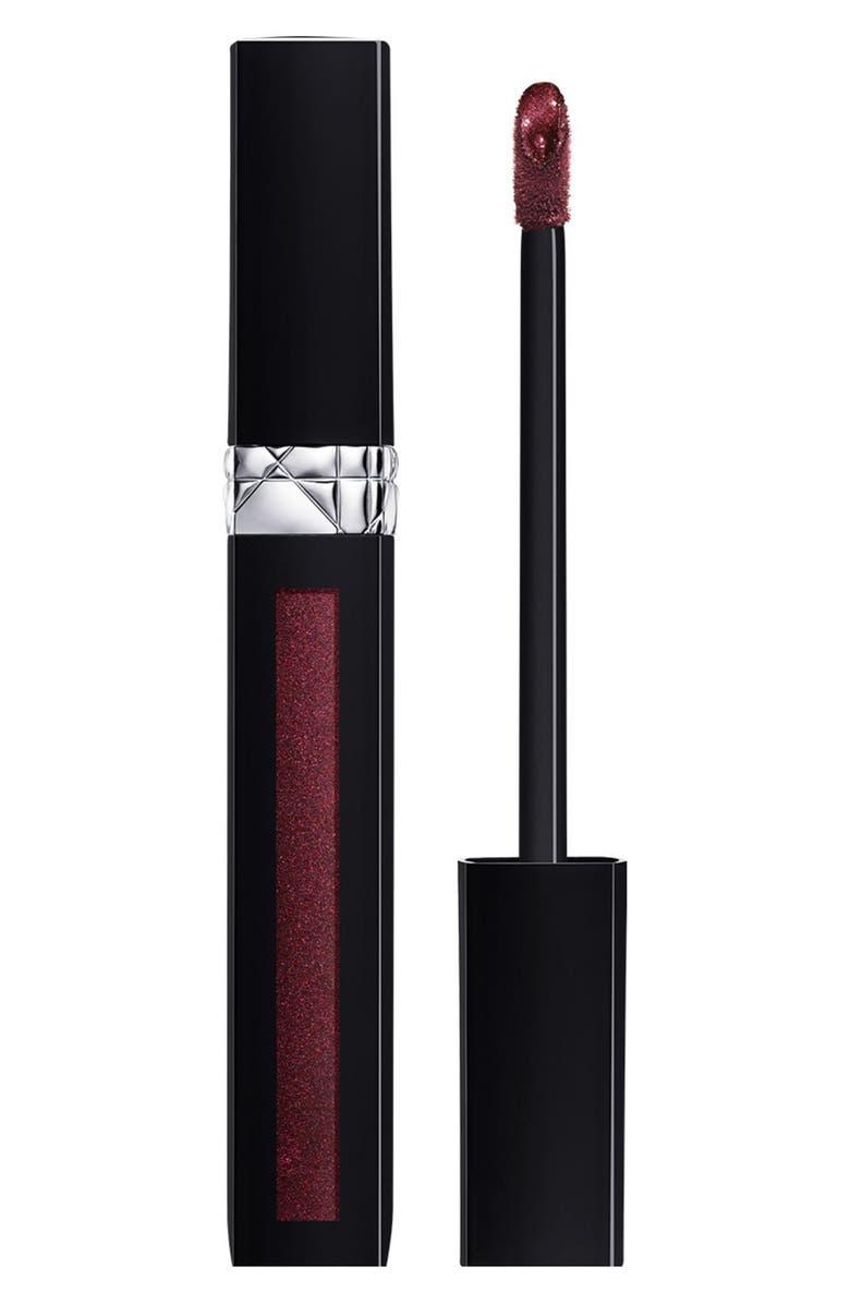 DIOR Rouge Dior Liquid Lip Stain, Main, color, 895 EXTREME PURPLE