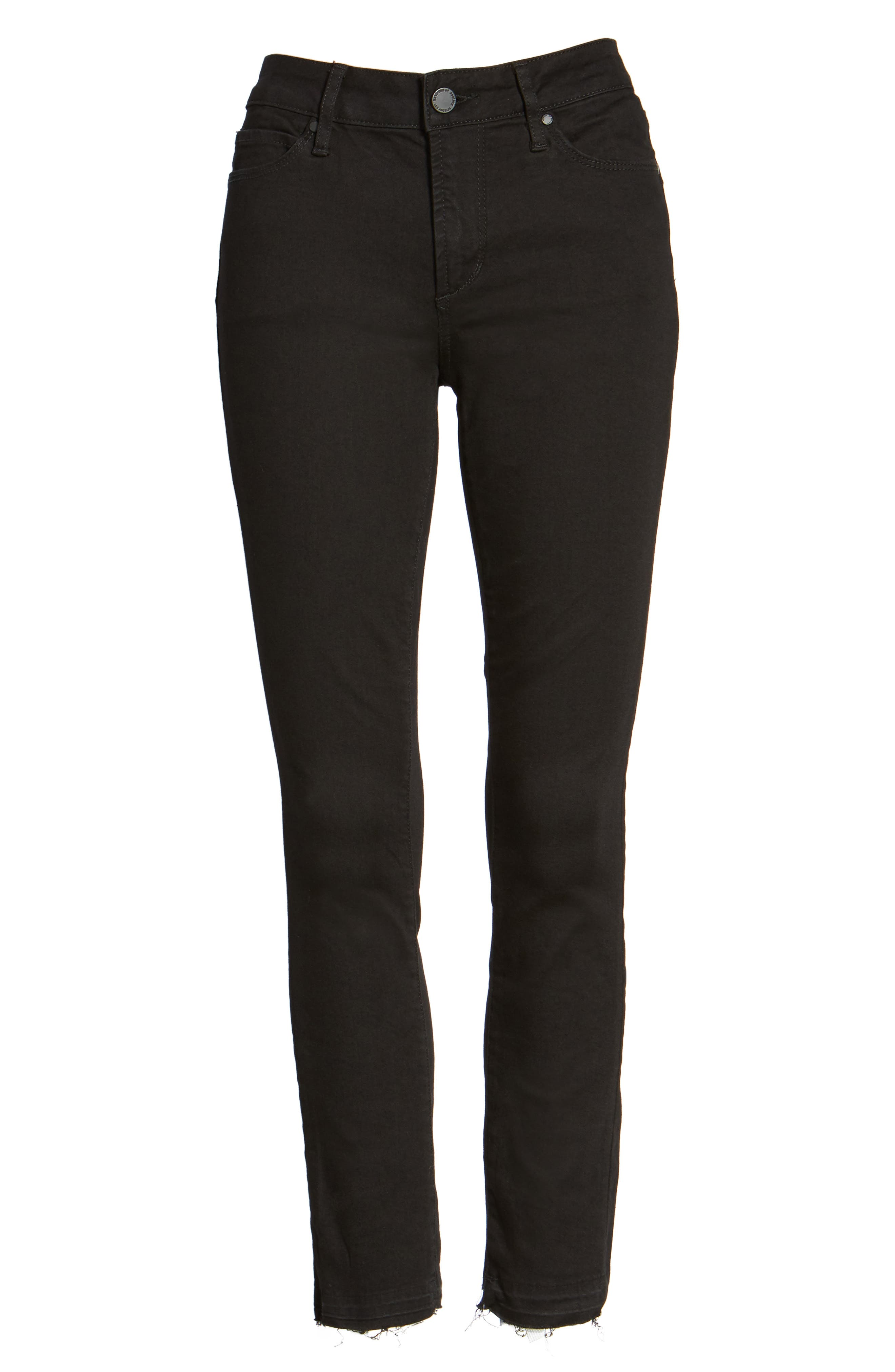 ,                             Carly Crop Skinny Jeans,                             Alternate thumbnail 6, color,                             012