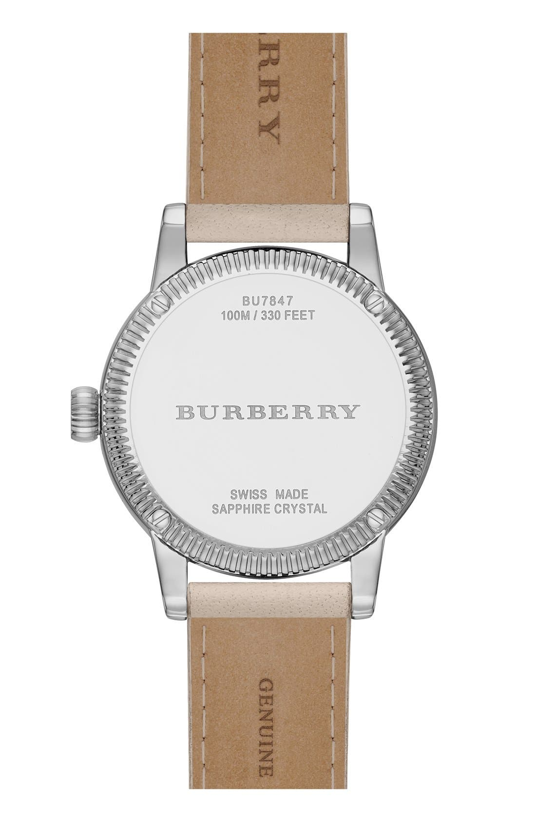 ,                             'Utilitarian' Round Leather Wrap Watch, 30mm,                             Alternate thumbnail 21, color,                             250