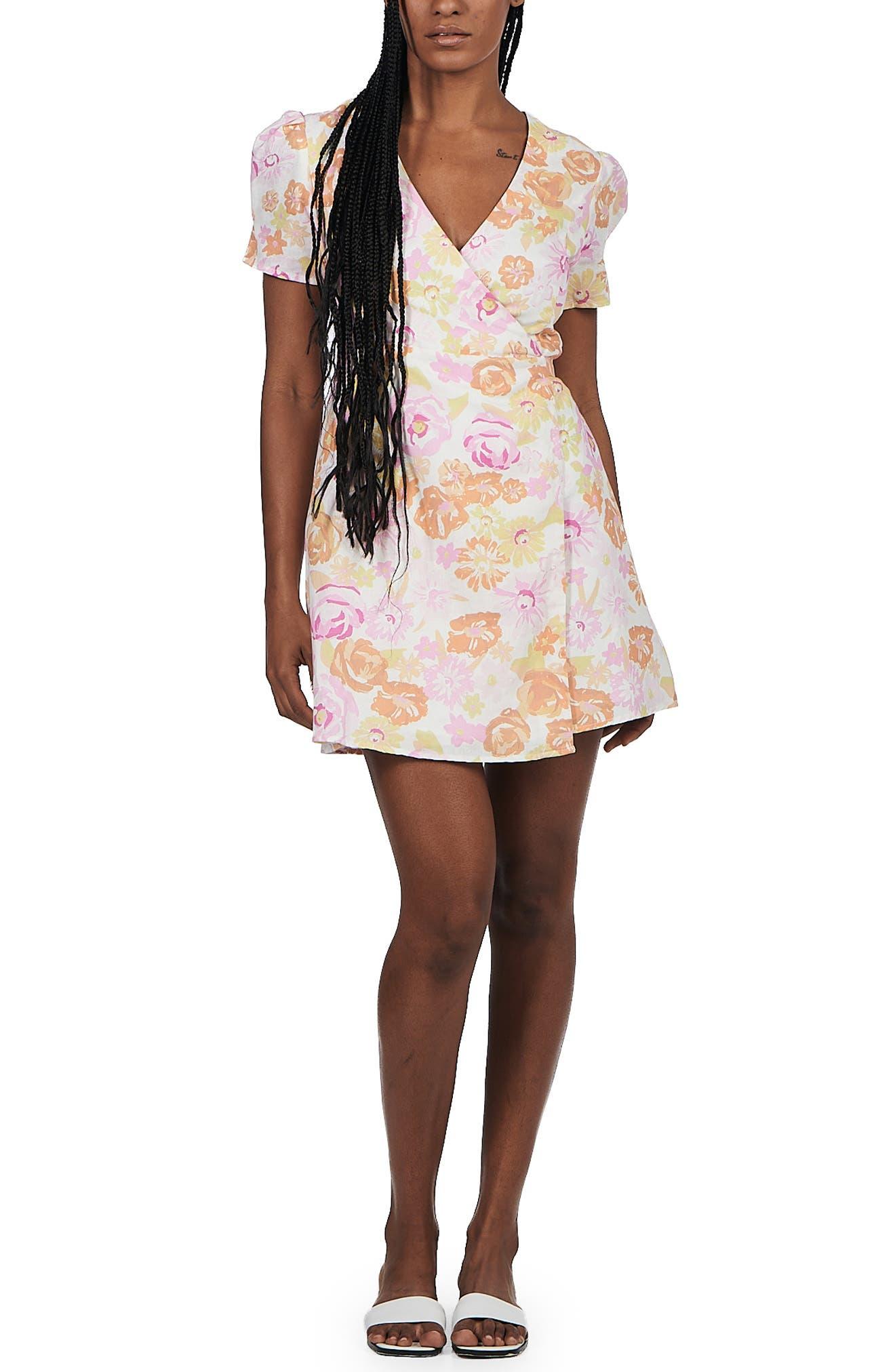 Callie Wrap Dress