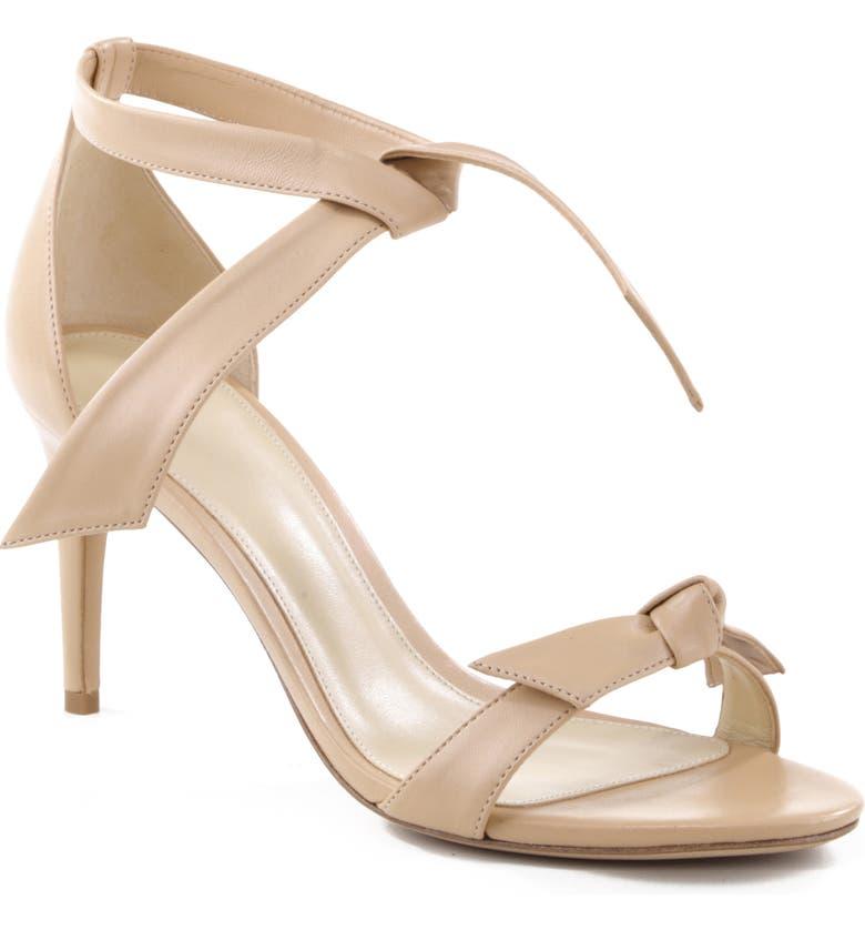 ALEXANDRE BIRMAN Clarita Ankle Tie Sandal, Main, color, NUDE