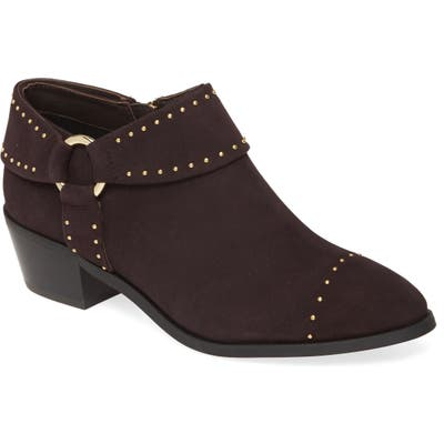Taryn Rose Sage Leather Bootie, Brown