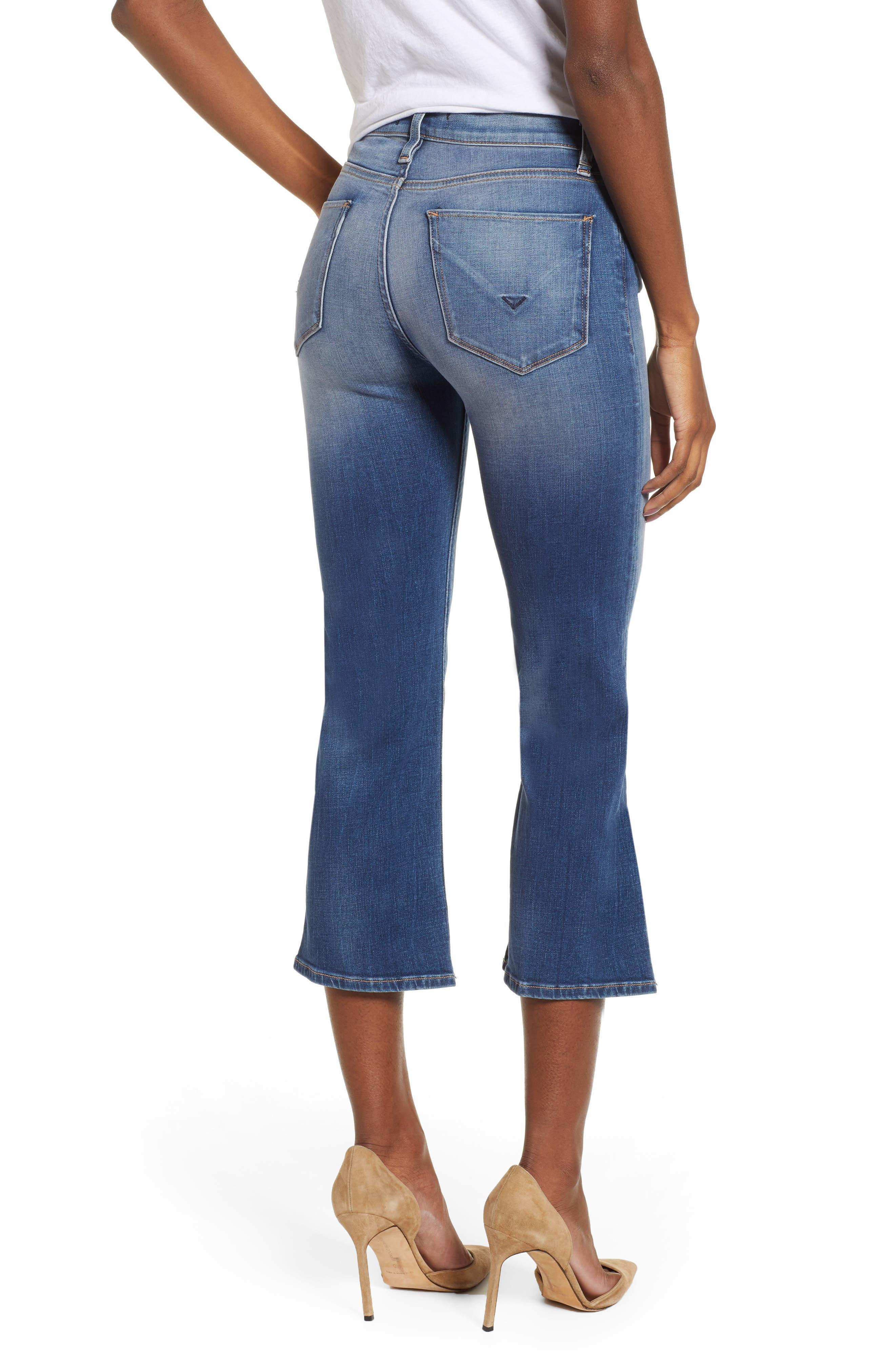 Hudson Jeans Womens Stella Midrise Crop 5 Pocket Jean