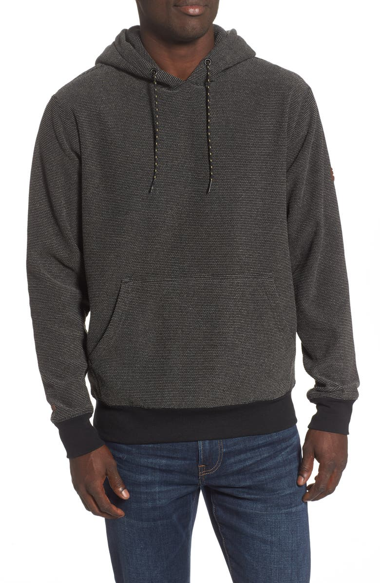 BILLABONG Outpost Hooded Sweatshirt, Main, color, CHAR