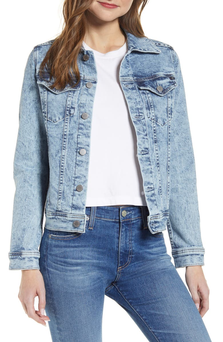 AG Mya Denim Jacket, Main, color, VIRTUE