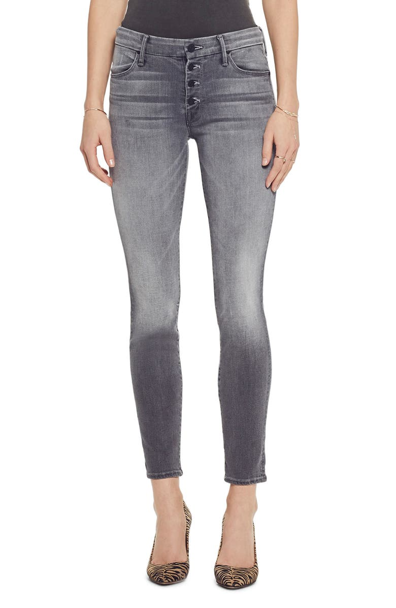 MOTHER The Pixie Ankle Skinny Jeans, Main, color, 020
