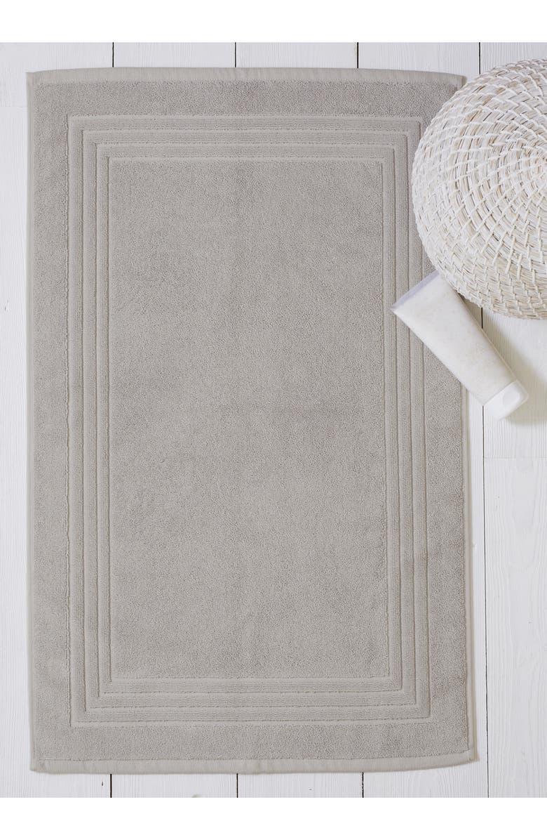 THE WHITE COMPANY Egyptian Cotton Bath Mat, Main, color, PEARL GREY