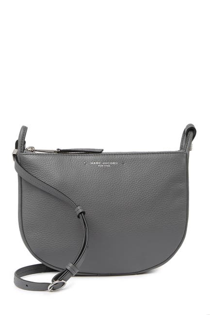 Image of Marc Jacobs Supple Leather Crossbody Bag