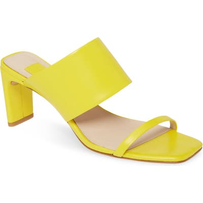 Louise Et Cie Lula Slide Sandal- Yellow