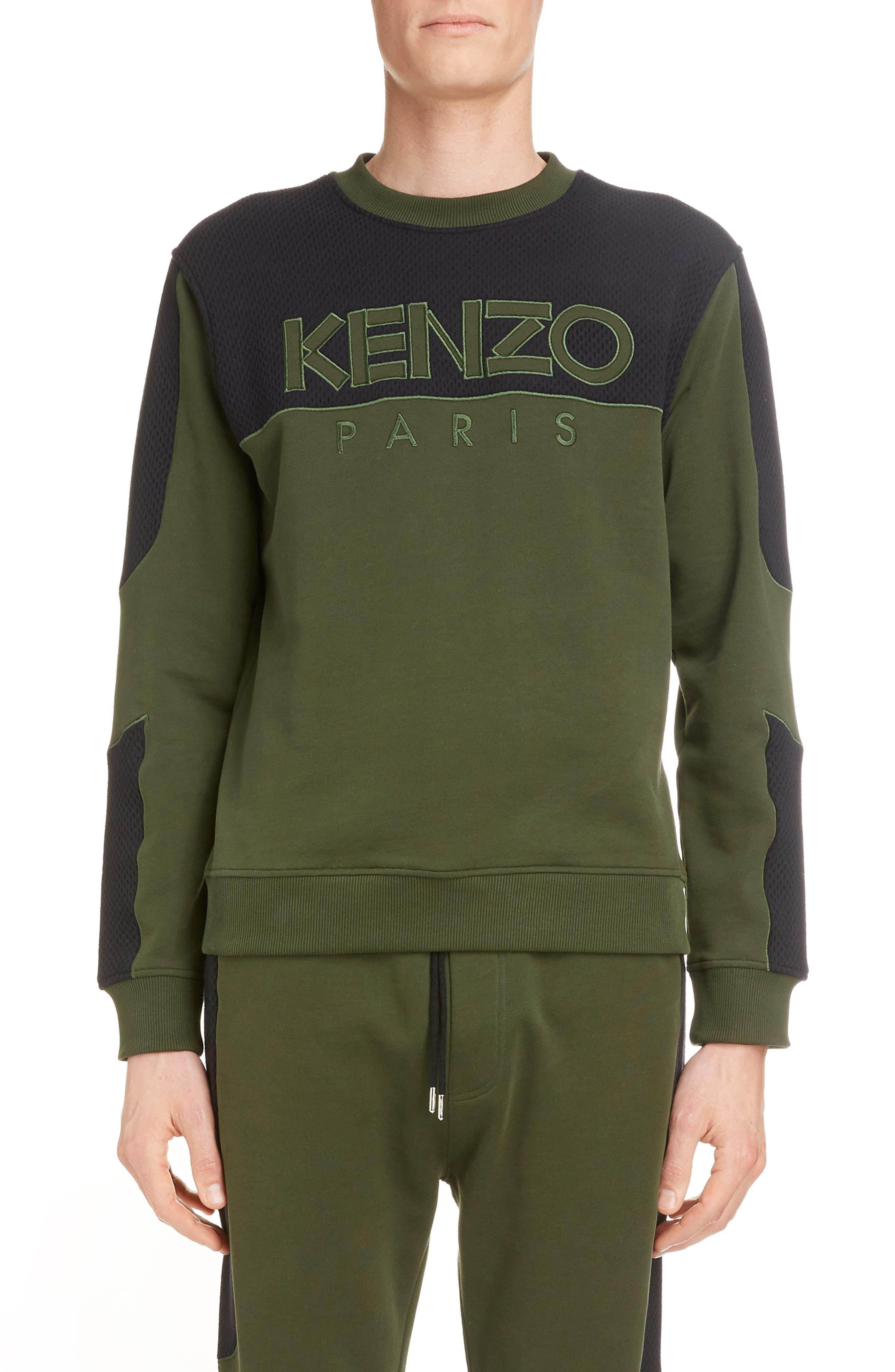 brown kenzo shirt