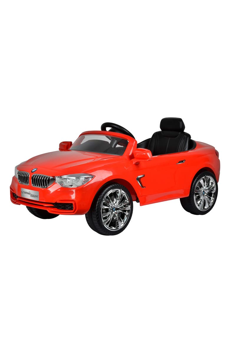 BEST RIDE ON CARS BMW 4 Series Ride-On Toy Car, Main, color, RED
