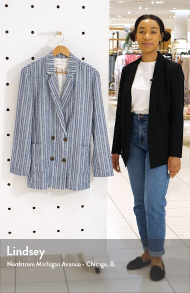 Relaxed Double Breasted Blazer, sales video thumbnail