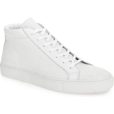 Supply Lab Deacon Mid Sneaker - White