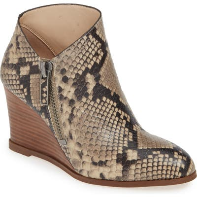 1.state Kaleb Wedge Bootie- Grey