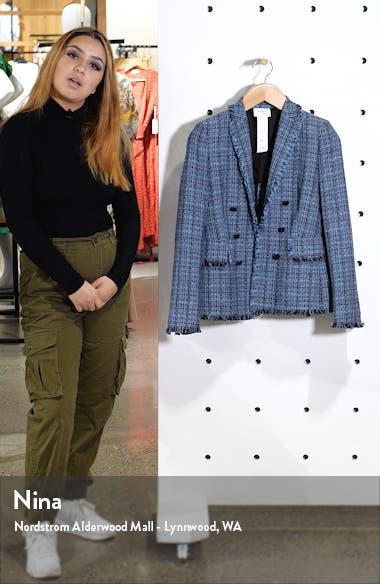 Fringe Tweed Blazer, sales video thumbnail