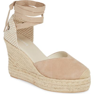 Soludos Mallorca Lace-Up Espadrille Wedge Sandal