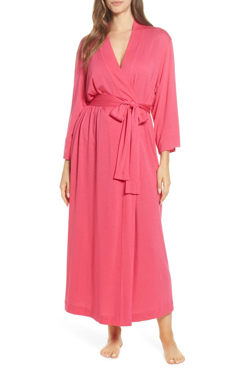 NATORI 'Shangri-La' Robe, Main, color, DKW DK WATERMELON