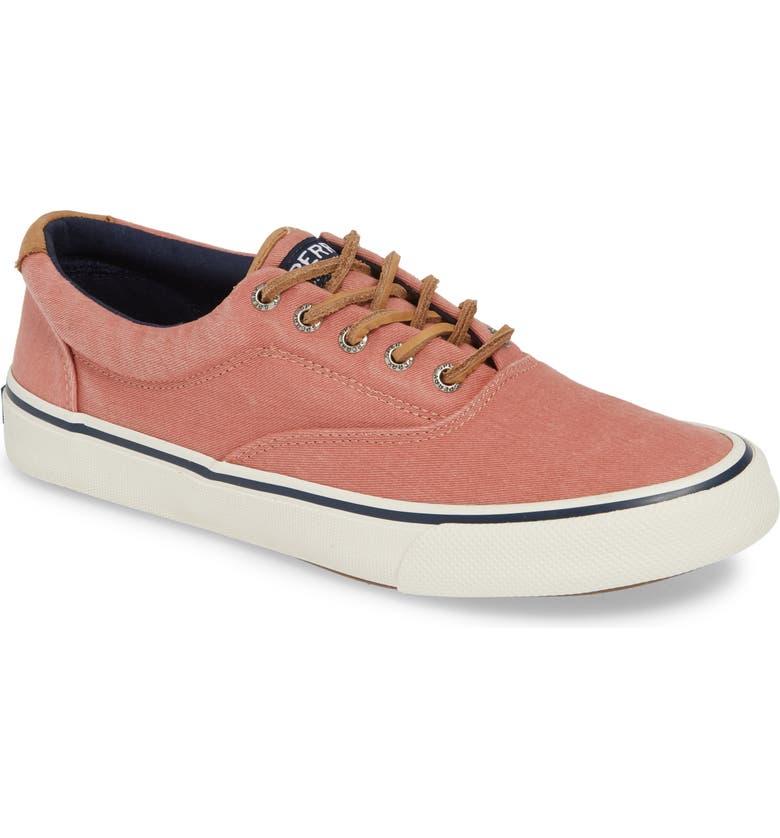 SPERRY Striper II CVO Oxford Sneaker, Main, color, RED