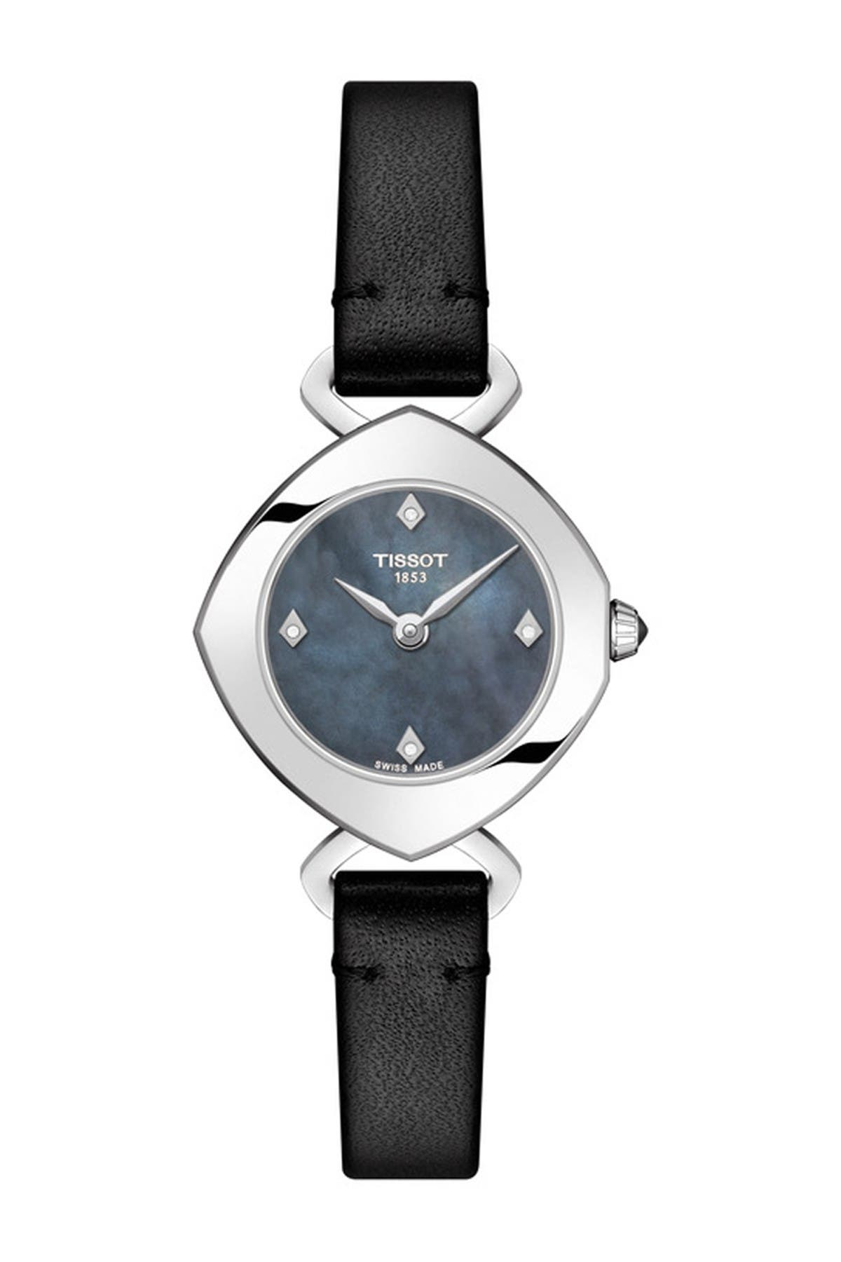 Image of Tissot Women's Femini-T Swiss Quartz Watch, 24mm - 0.052 ctw