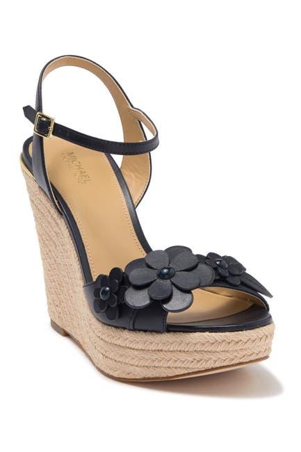Image of MICHAEL Michael Kors Flora Espadrille Wedge Sandal