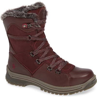 Santana Canada Majesta Luxe Waterproof Winter Boot, Burgundy