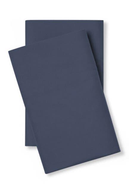 Image of Pillow Guy Luxe Soft & Smooth Tencel Pillowcase Pair - Set of 2 - Standard/Queen - Dark Navy