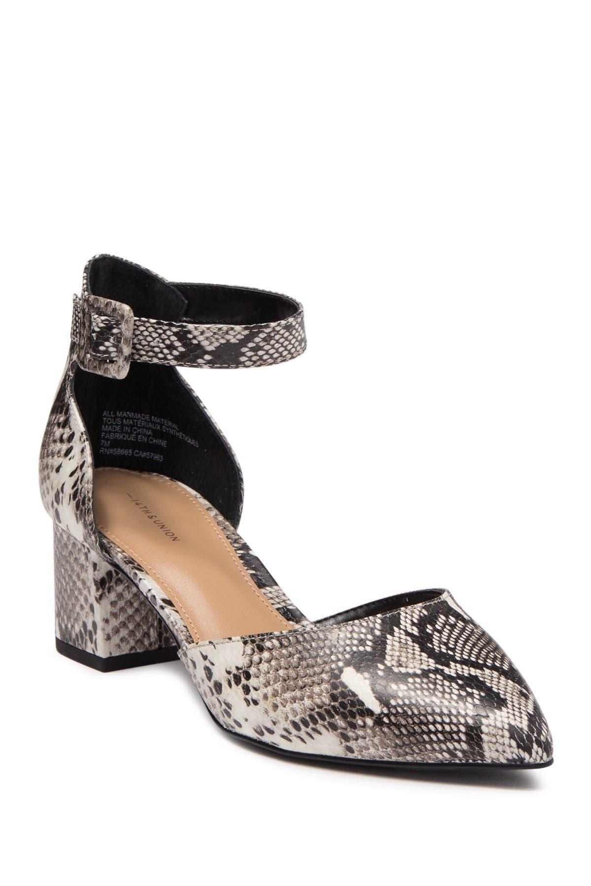 NEW Sonoma Women/'s Raelin Buckle Strap Block Heeled Sandals #132642 142P tk