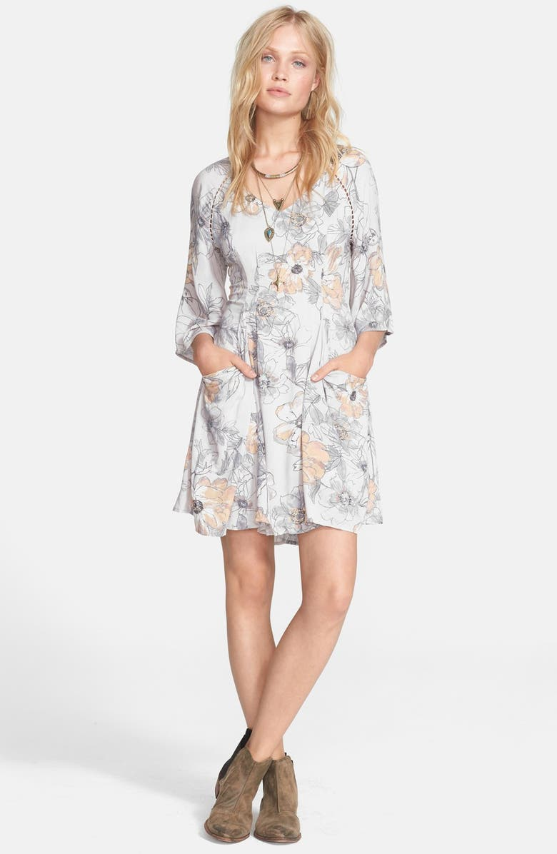 FREE PEOPLE 'Eyes On You' Trapeze Dress, Main, color, 086