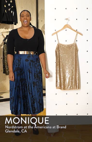 Time to Shine Sequin Slipdress, sales video thumbnail