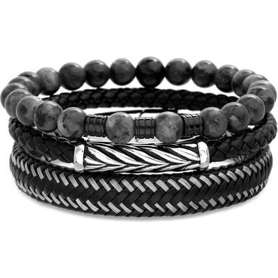 Steve Madden 3-Piece Bracelet Set