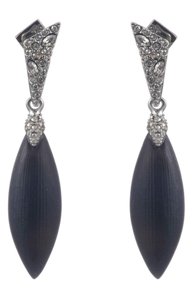 ALEXIS BITTAR Crystal Encrusted Drop Earrings, Main, color, 001