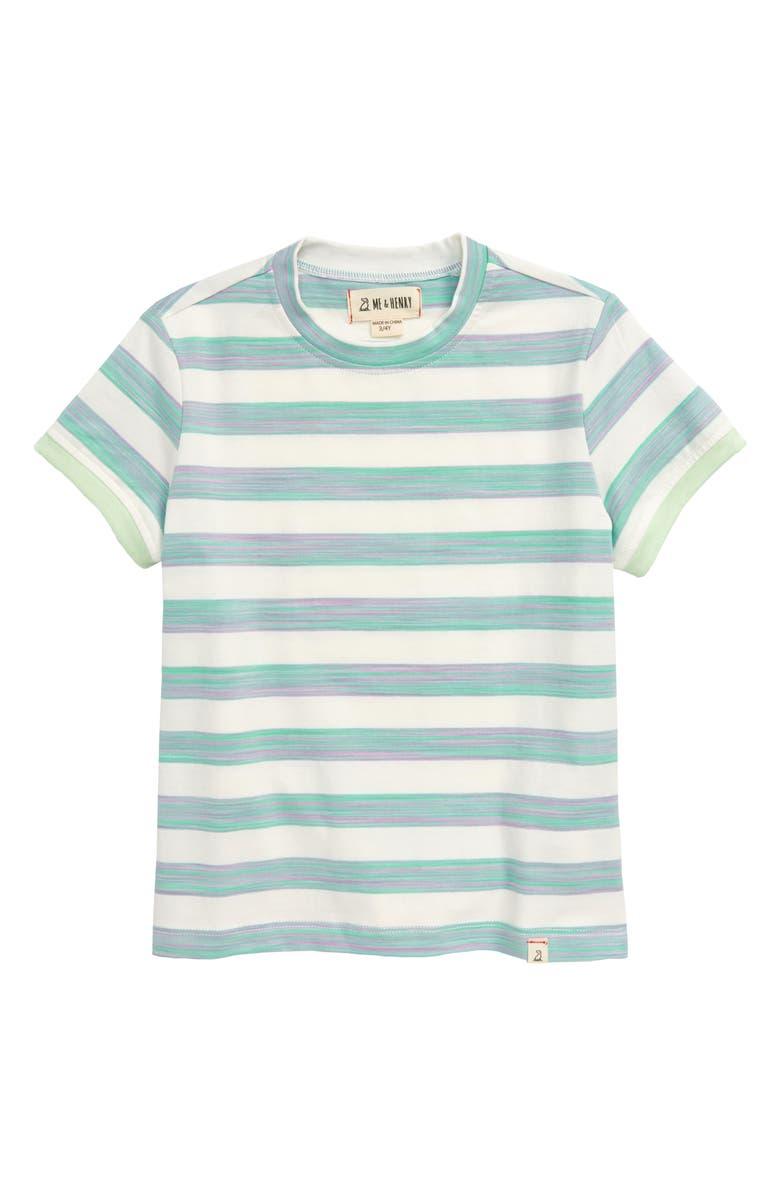 ME & HENRY Stripe T-Shirt, Main, color, 400